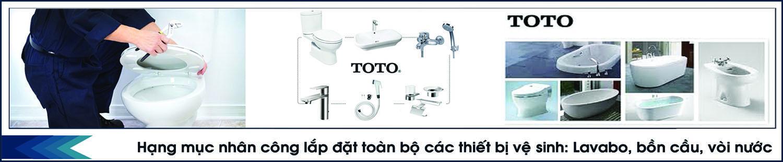 Lắp đặt hệ thống thiết bị vệ sinh