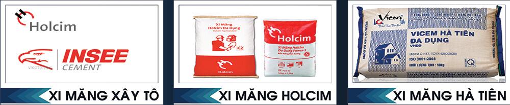 Xi măng Holcim và xi măng Hà Tiên