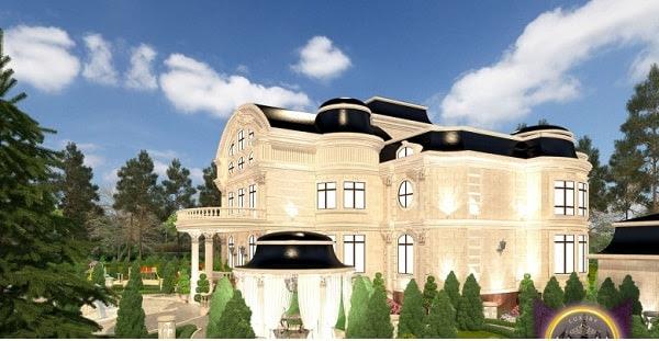 Thiết kế biệt thự cổ điển cực chất ở Nigeria