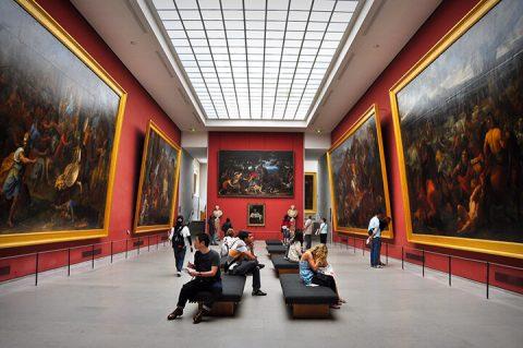 bảo tàng louvre 1