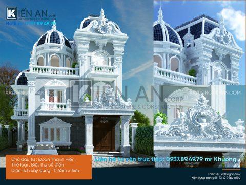 mẫu thiết kế biệt thự đẹp 11