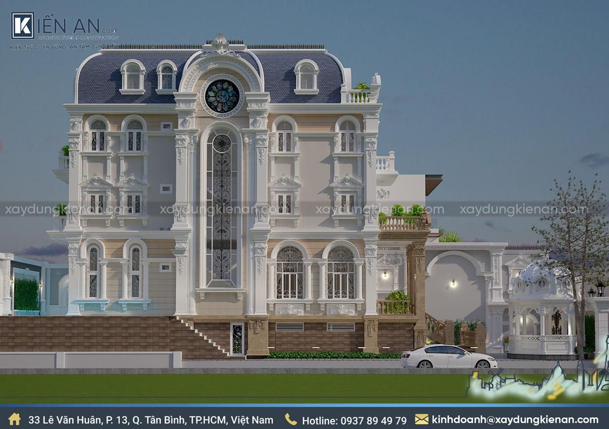 thiết kế nhà biệt thự đẹp có tầng hầm