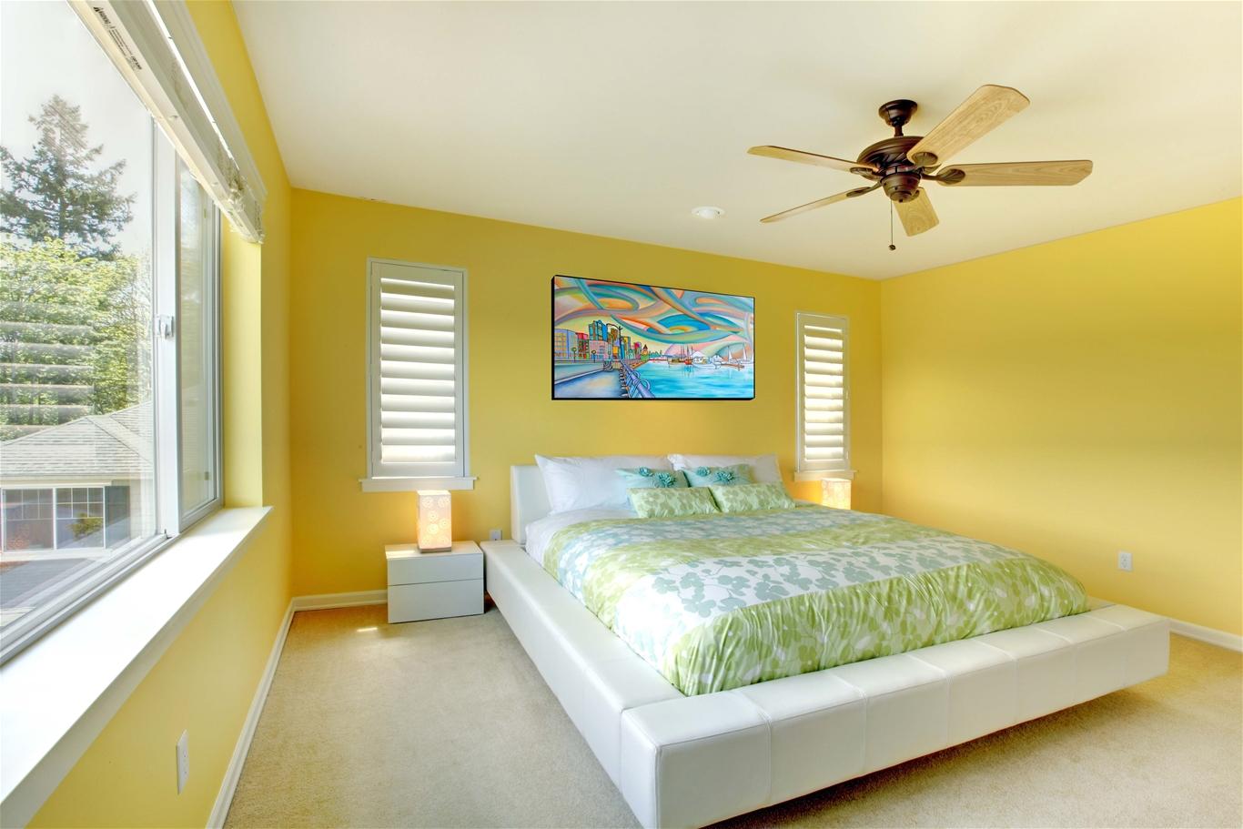 Màu sắc phòng ngủ cho người mệnh thổ
