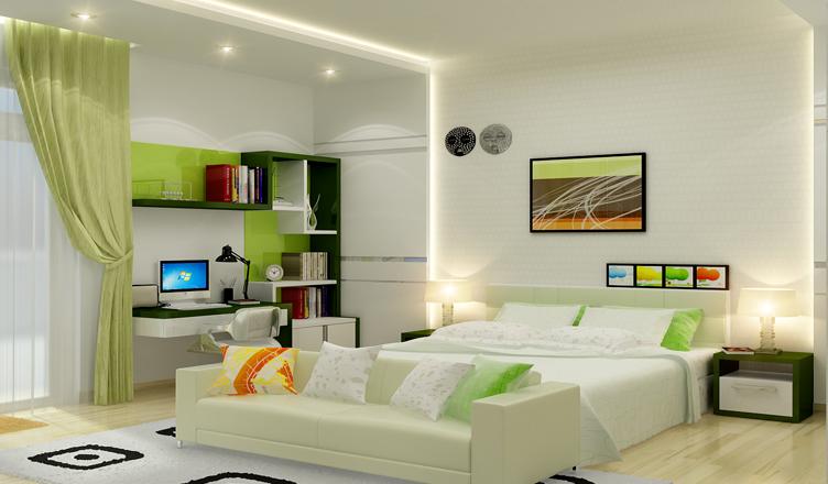 Màu sắc phòng ngủ cho người mệnh Thủy
