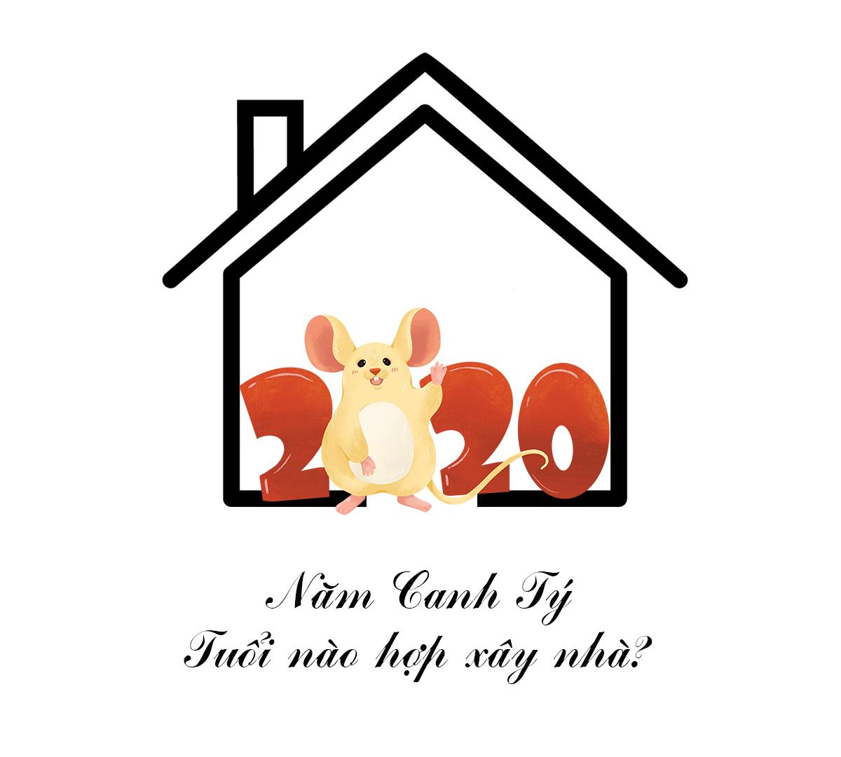 Năm Canh Tý 2020 tuổi nào hợp làm nhà?
