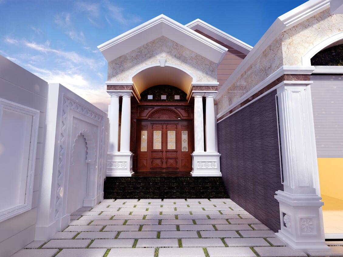 Hình ảnh: Ngôi biệt thự 2 mặt tiền phong cách hiện đại thiết kế đẹp từng tiểu tiết