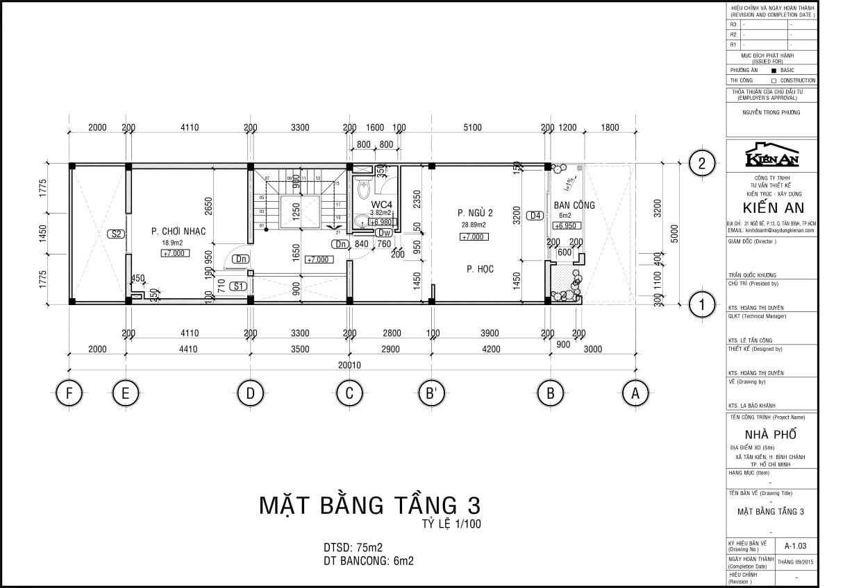 mẫu thiết kế biệt thự 3 tầng