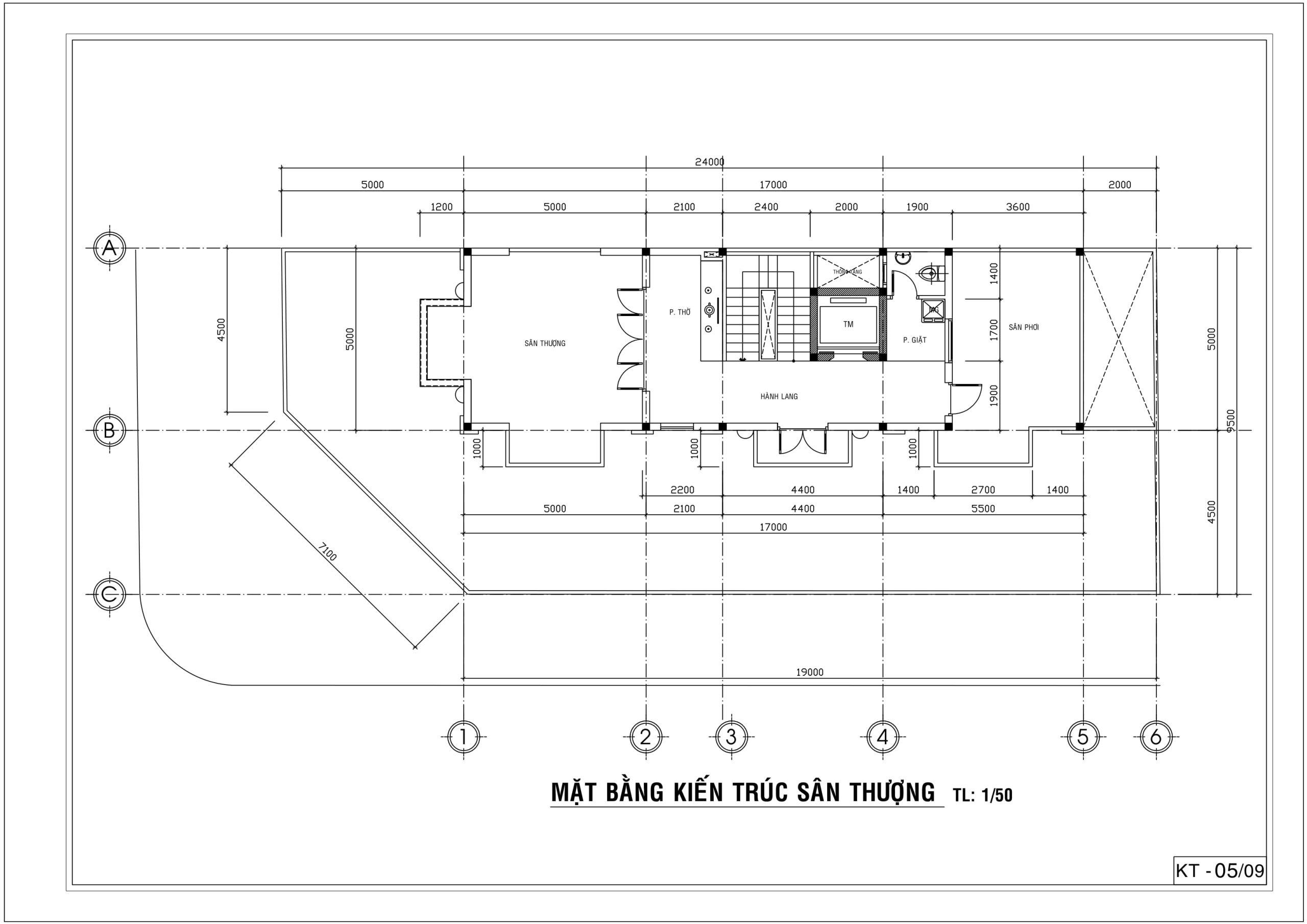 Thiết kế sân thượng nhà cổ điển