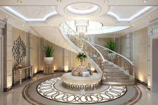 mẫu cầu thang cổ điển