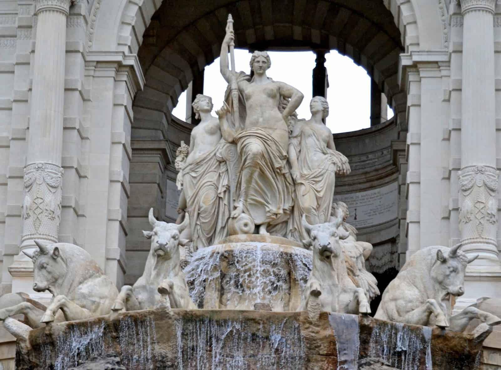 lâu đài nước Palais Longchamps