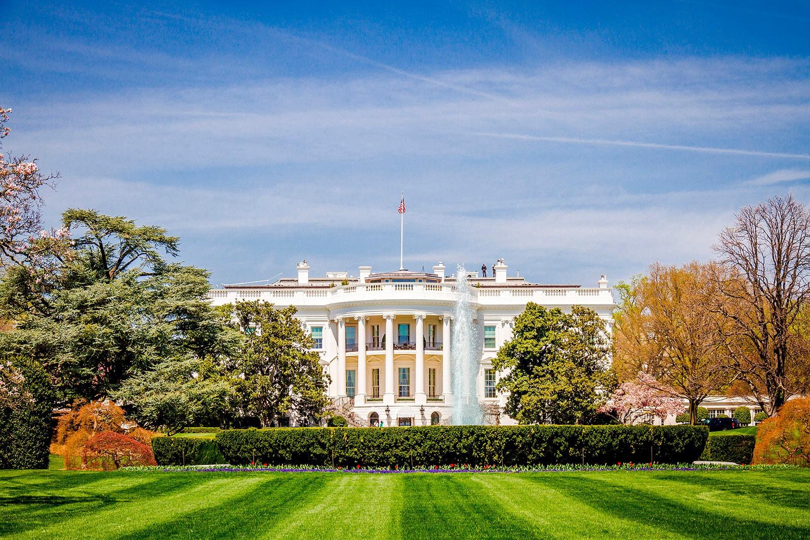 toàn cảnh Nhà Trắng - công trình kiến trúc tân cổ điển của thế giới