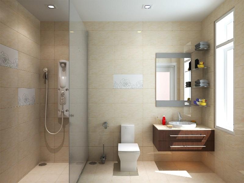 thiết kế nhà vệ sinh trong phòng ngủ