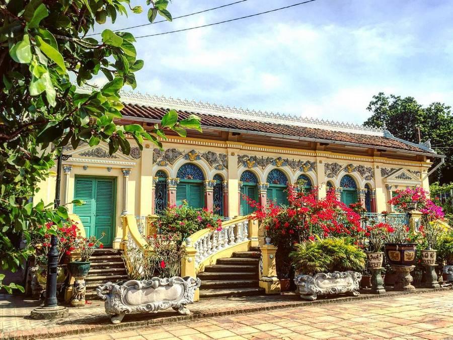 Nhà cổ Bình Thủy - công trình kiến trúc cổ Việt Nam