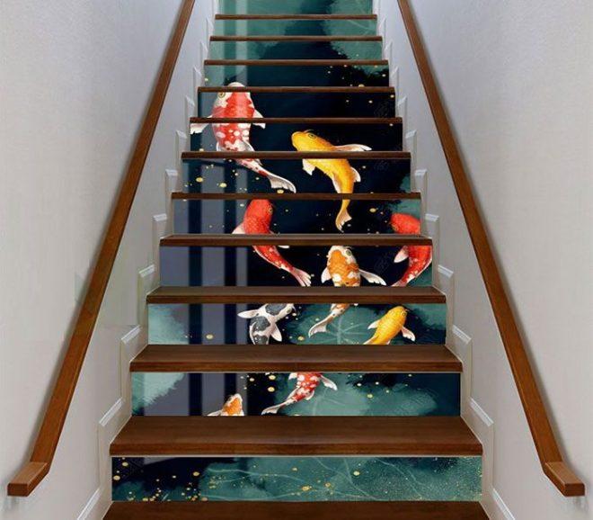 tam cấp cầu thang